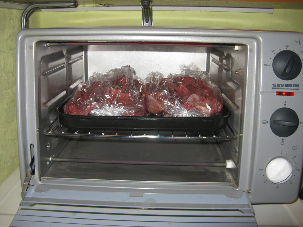 Мясо в духовом шкафу