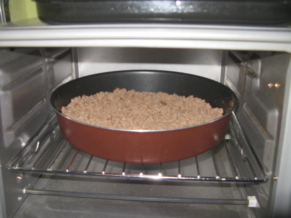 На промежуточной стадии сушки в духовке
