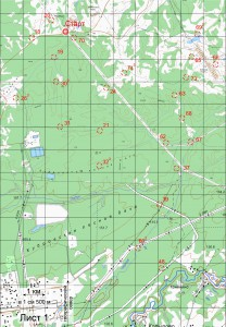 Карта кл. М Лист 1