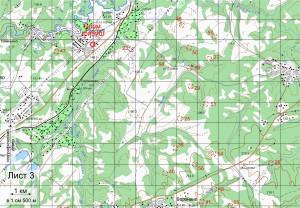 Карта кл. А Лист 3